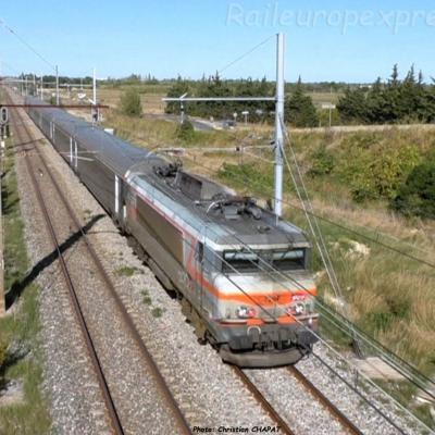 BB 7200 SNCF à Mireval (F-34)