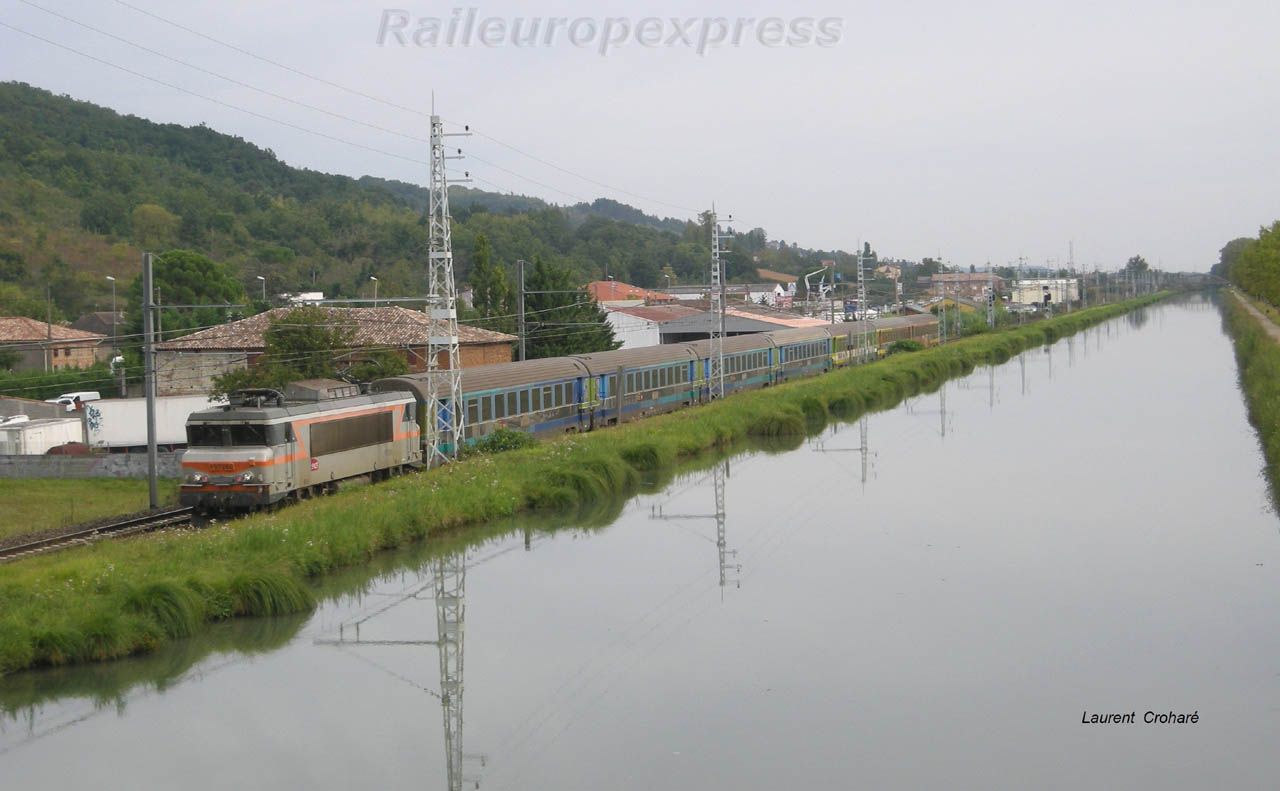BB 7260 SNCF à Pompignan (F 82)
