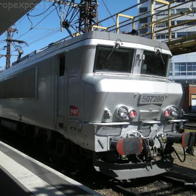 BB 7280 SNCF à Toulouse (F-31)