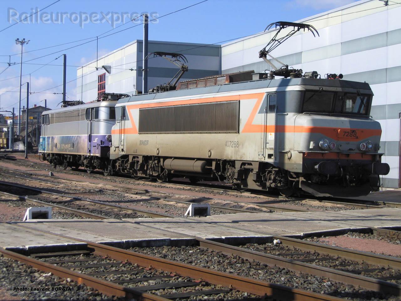 BB 7288 SNCF à Bordeaux (F-33)
