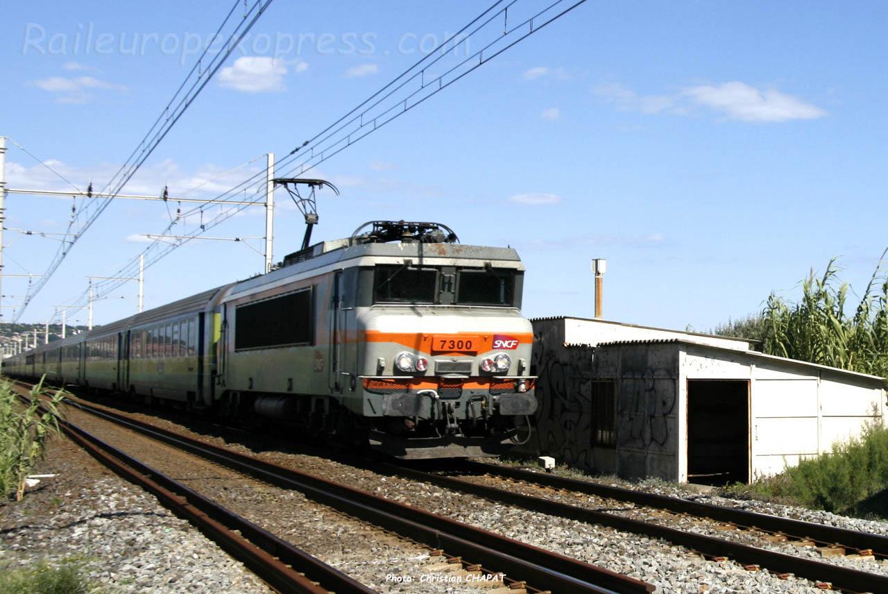 BB 7300 SNCF à Sète (F-34)