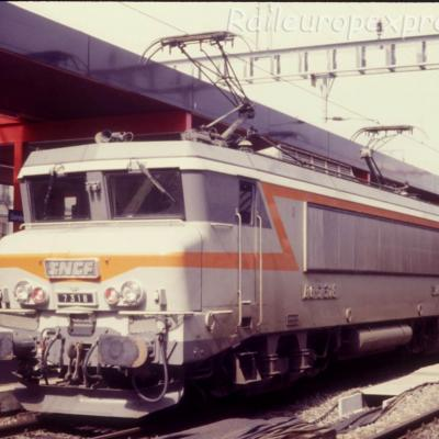BB 7318 SNCF à Genève (CH)
