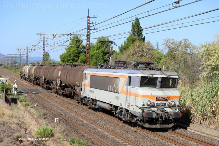 BB 7440 SNCF à Conilhac Corbières (F-11)