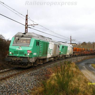 BB 75050 à Loubaresse