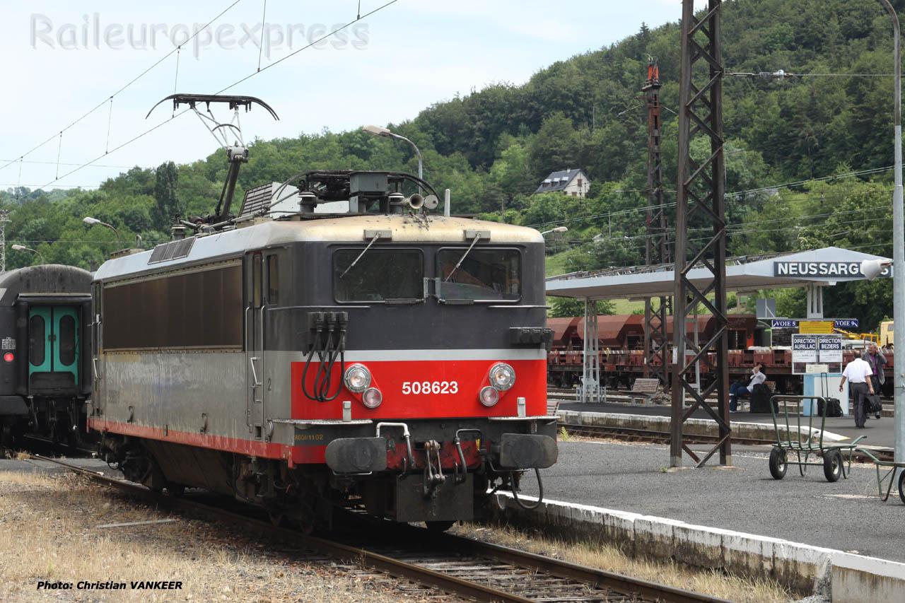 BB 8623 SNCF à Neussargues (F-15)