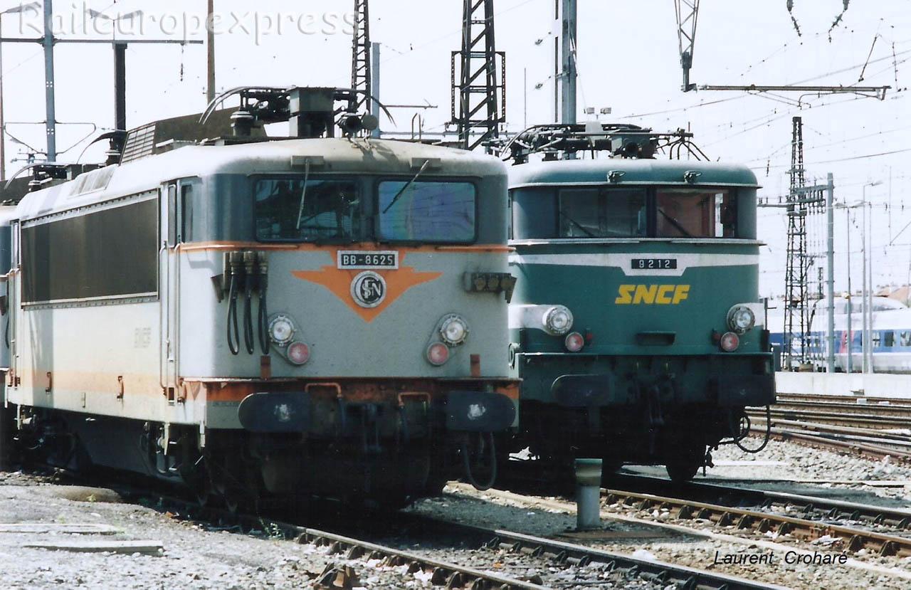 BB 8625 et BB 9212 SNCF