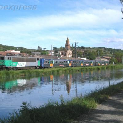 BB 8632 SNCF à Pompignan (F 82)