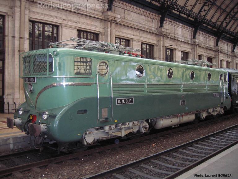 BB 9004 SNCF à Bordeaux Saint Jean (F-33)