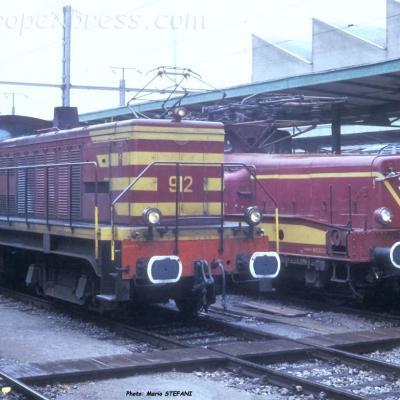 BB 912 CFL à Luxembourg (L)