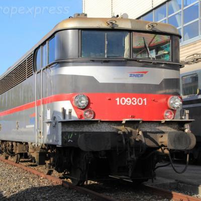 BB 9301 SNCF à Genève (CH)