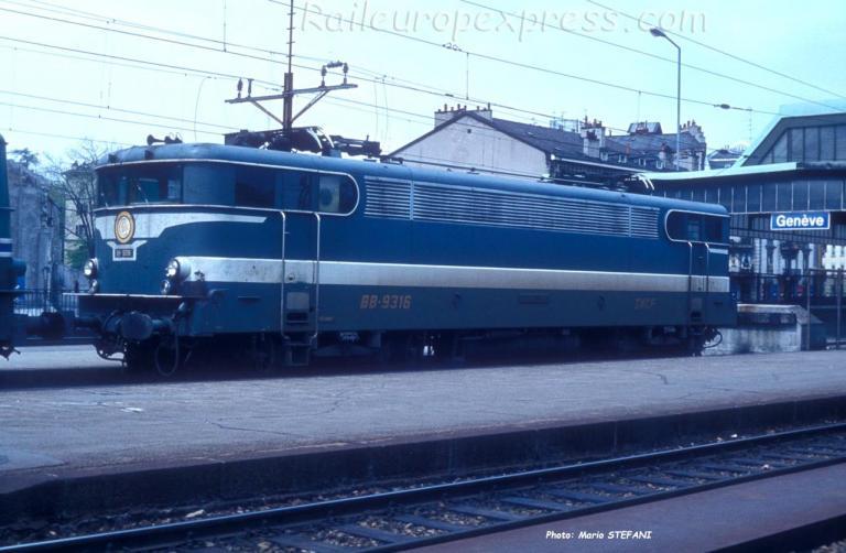 BB 9316 SNCF à Genève (CH)
