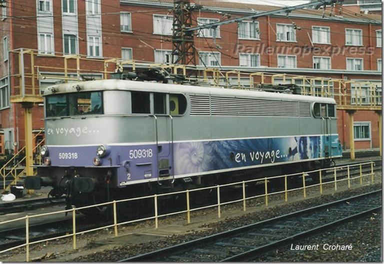 BB 9318 au dépôt de Toulouse Matabiau (F 31)