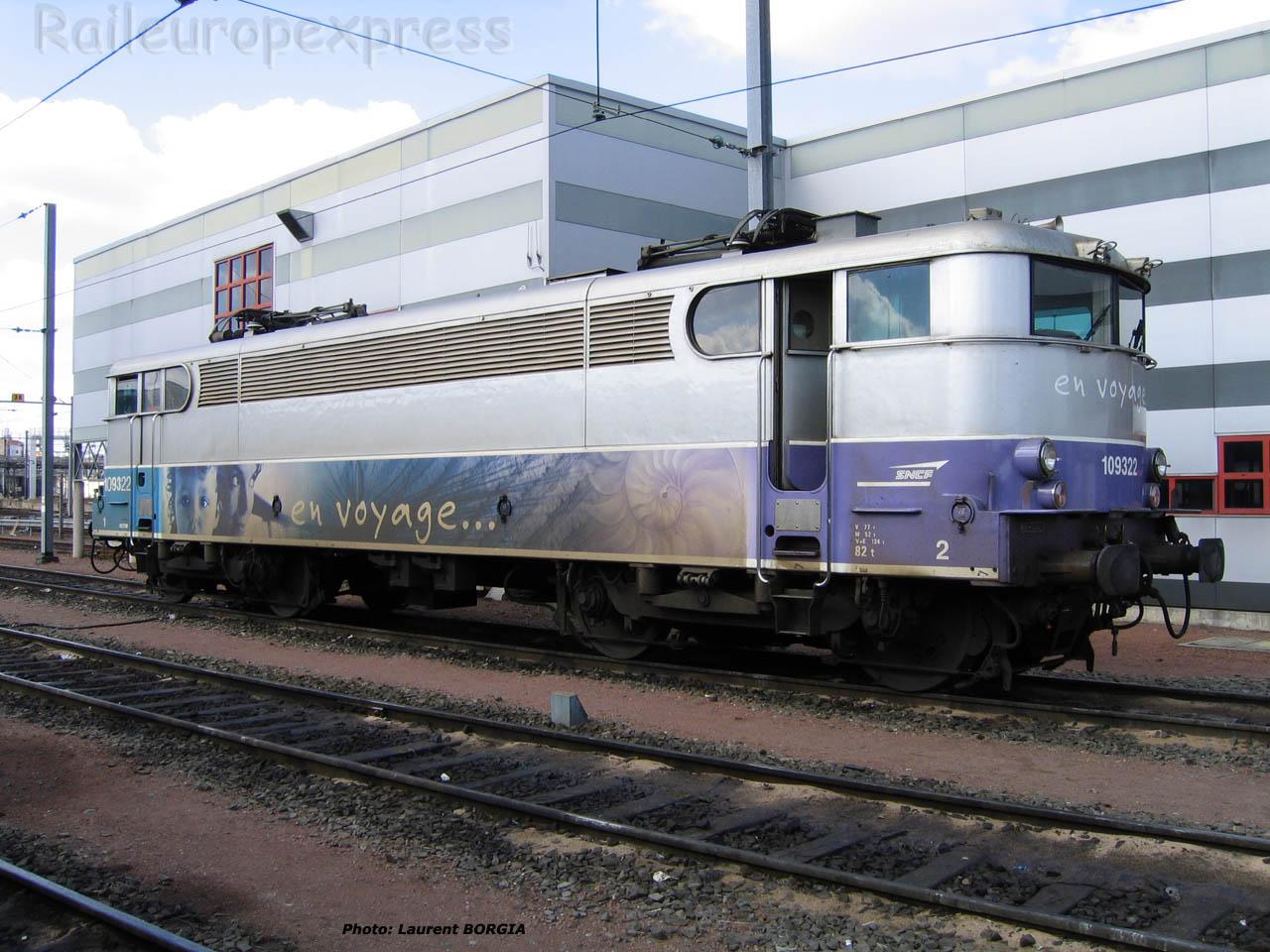 BB 9322 SNCF à Bordeaux (F-33)
