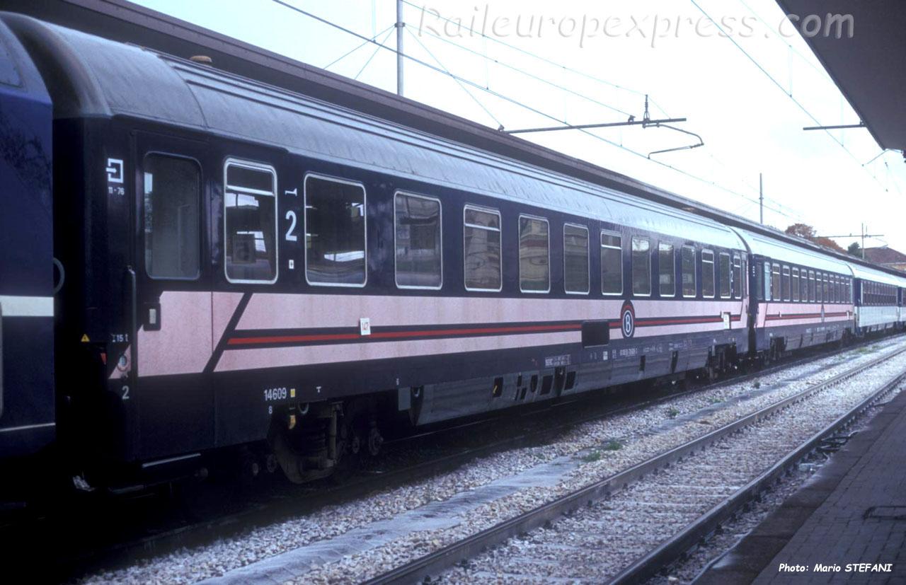 Bcm I10 14609 SNCB à Rimini (I)