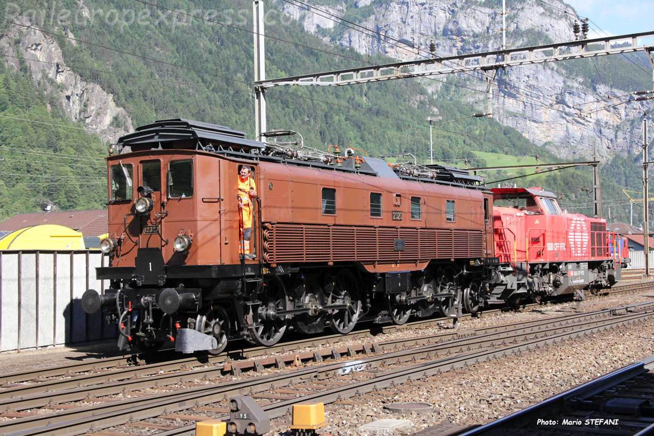 Be 4/6 12320 CFF à Erstfeld (CH)