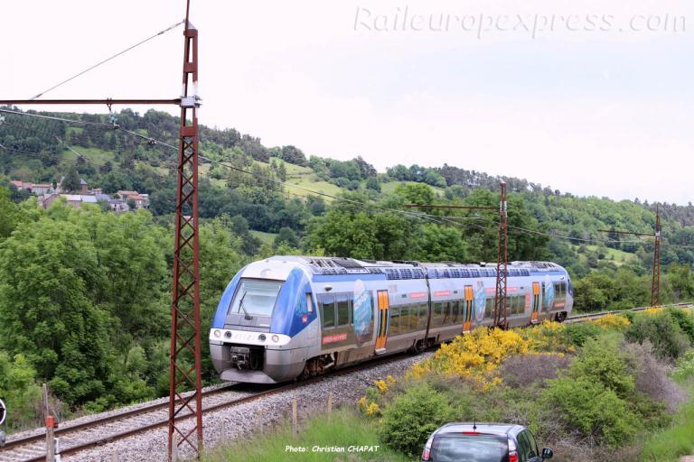 BGC 81523 SNCF à Andelat (CH)