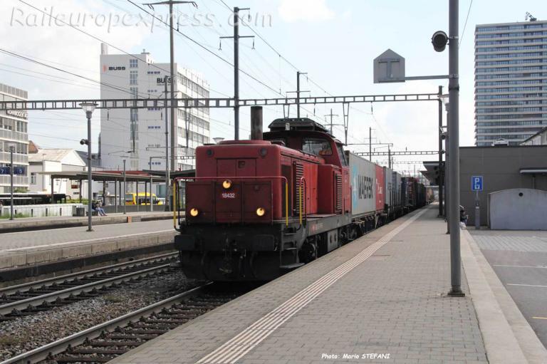 Bm 4/4 18432 CFF à Pratteln (CH)
