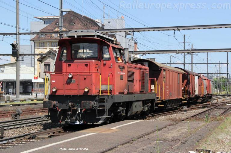Bm 4/4 18443 CFF à Pratteln (CH)