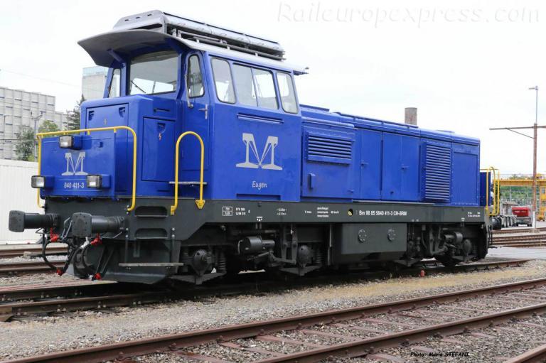 Bm 840 411-3 BRM à Bern (CH)