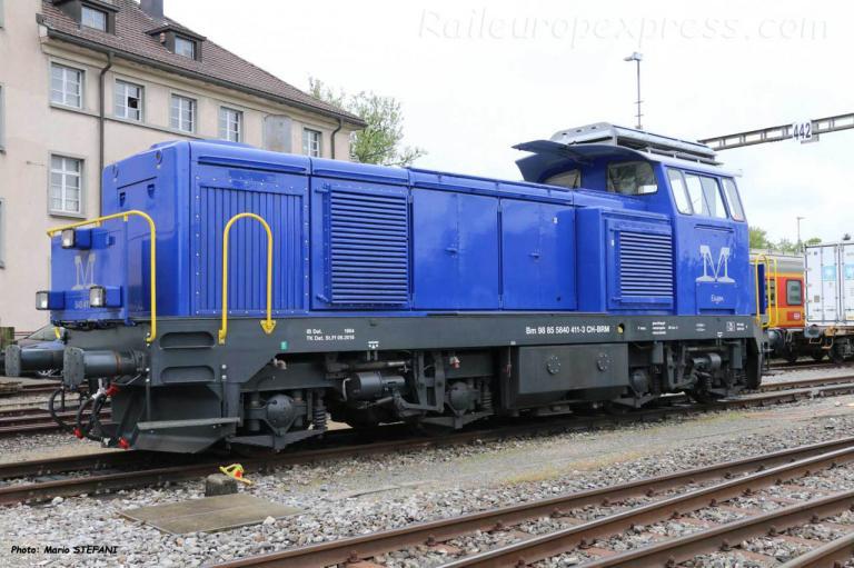 Bm 840 411-3 BRM à Bern-Weyrmanshaus (CH)