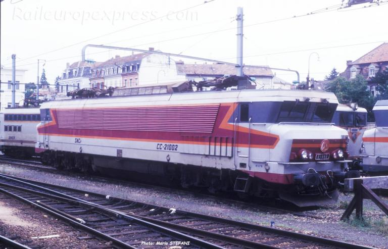 CC 21002 SNCF à Mulhouse (F-68)
