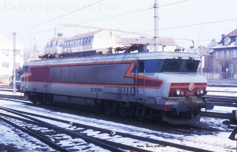 CC 21004 SNCF à Mulhouse (F-68)