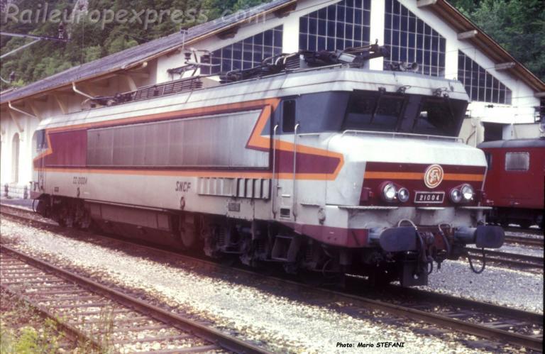 CC 21004 SNCF à Vallorbe (CH)