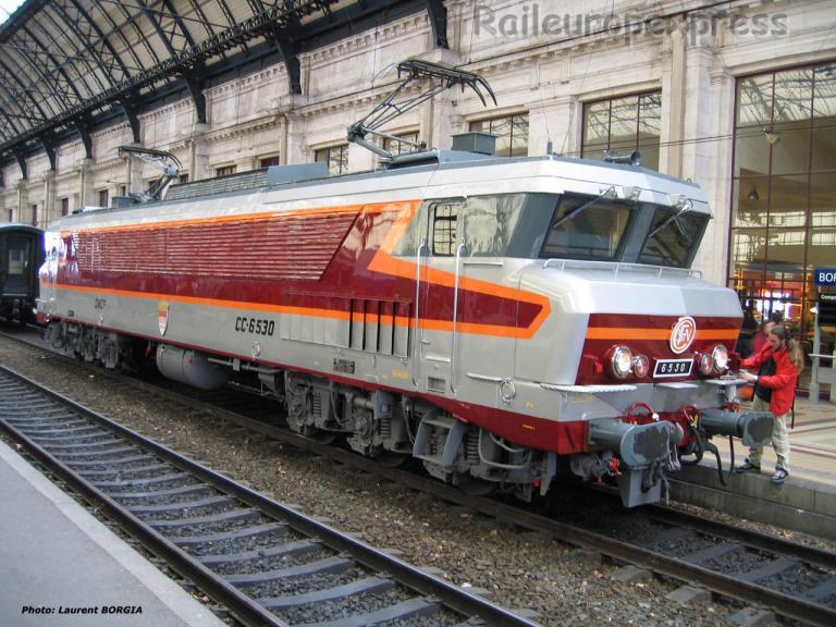 CC 6530 SNCF à Bordeaux Saint Jean (F-33)