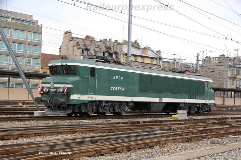 CC 6558 SNCF à Genève Cornavin (CH)