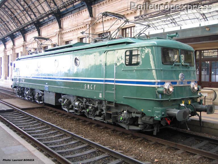 CC 7107 SNCF à Bordeaux Saint Jean (F-33)