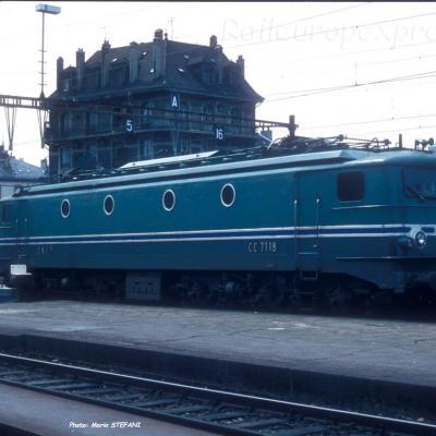 CC 7118 SNCF à Genève (CH)