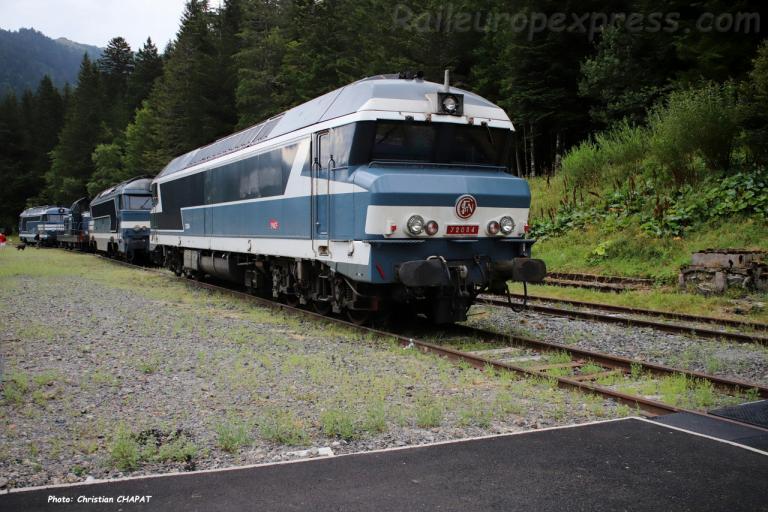 CC 72084 SNCF au Lioran (F-15)