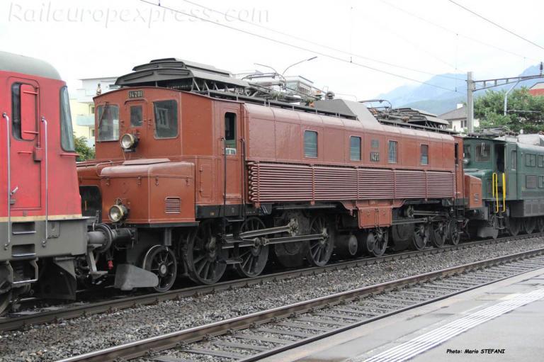 Ce 6/8 I 14201 CFF à Schwyz (CH)