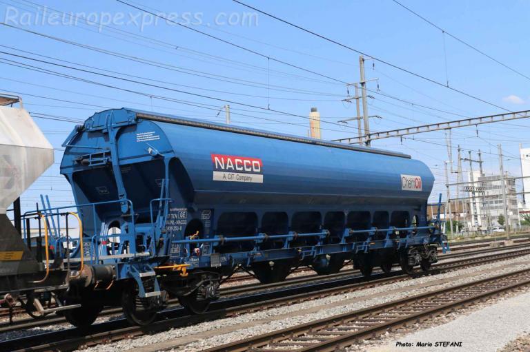 Céréalier Uadgs NACCO / CHEMOIL à Pratteln (CH)