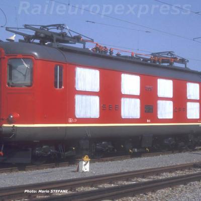 CFF Re 44 I 10001 Yverdon