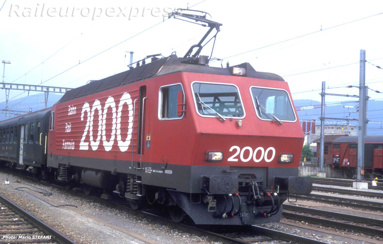 CFF Re 44 IV Rail 2000 Yverdon