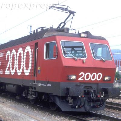 CFF Re 44 IV Rail 2000 Yverdon