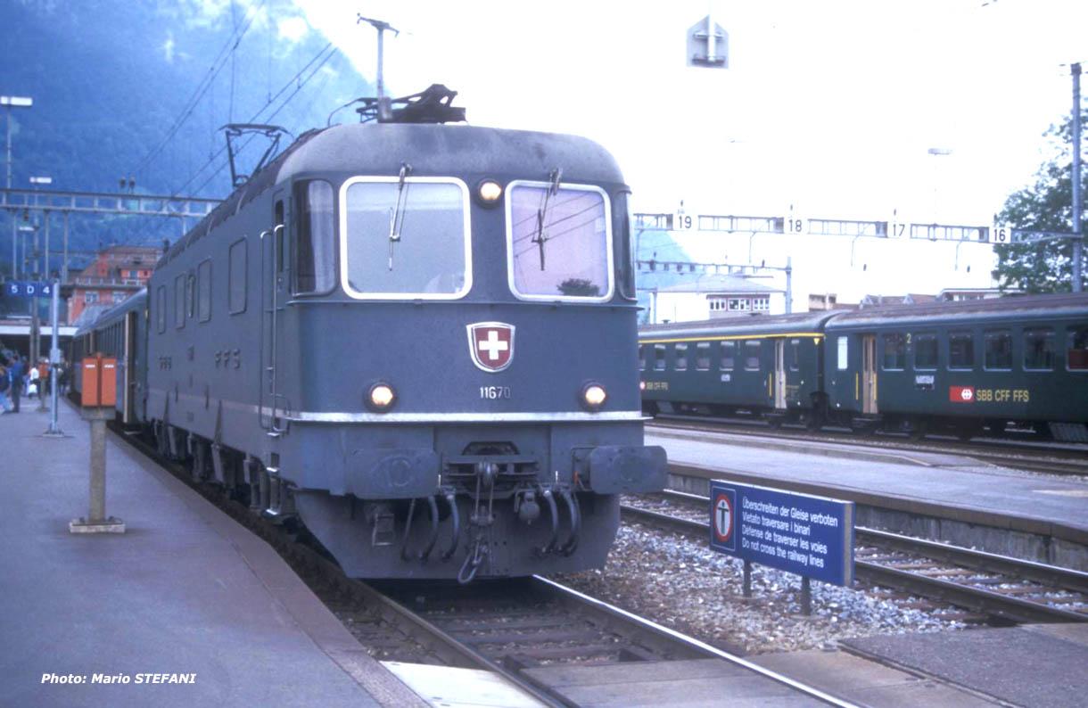 CFF Re 6/6 11670 Arth Goldau