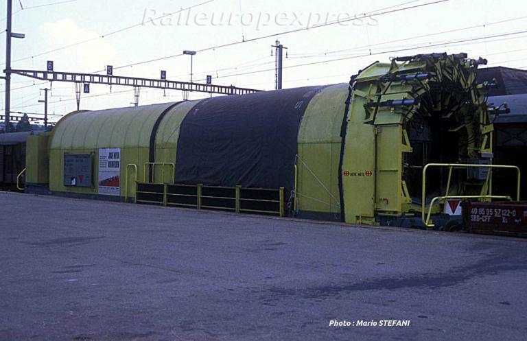 CFF  Wagon ventilateur á Yverdon