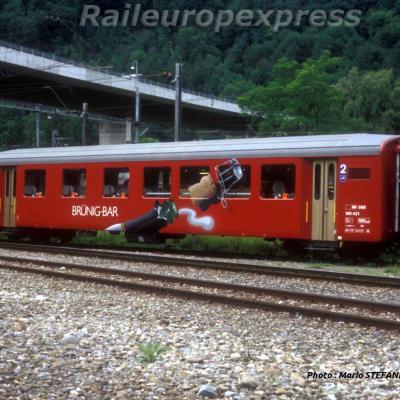 CFF WR 421 BRUNIG BAR á Interlaken