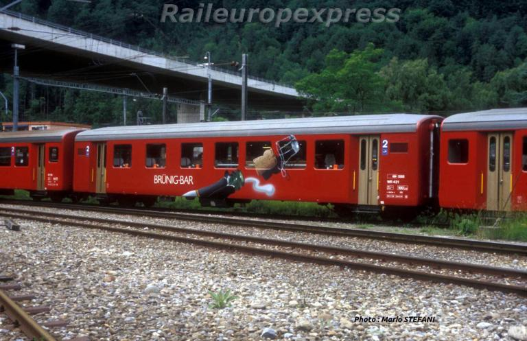 CFF WR 421 BRUNIG BAR á Interlaken