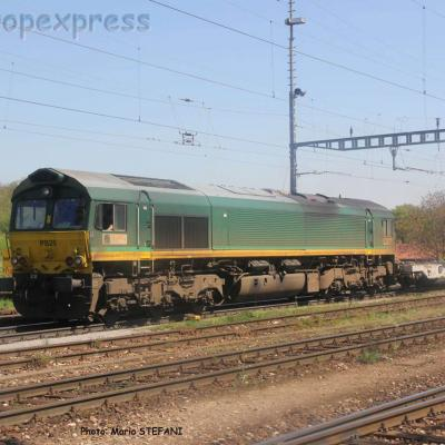 Class 66 PB20 Ascendos à Muttenz (CH)