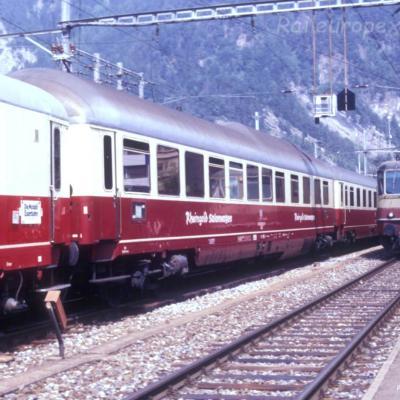 WRmh DB à Interlaken (CH)