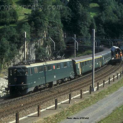 CS22D 04 CFF Ae 6/6 IR Wassen 20-09-1990 DMS CS22D 04 copie