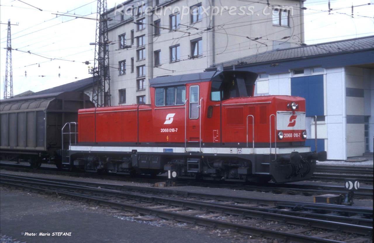 2068 018-7 OBB à Salzburg (A)
