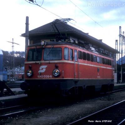 1042 039-6OBB à Salzburg (A)