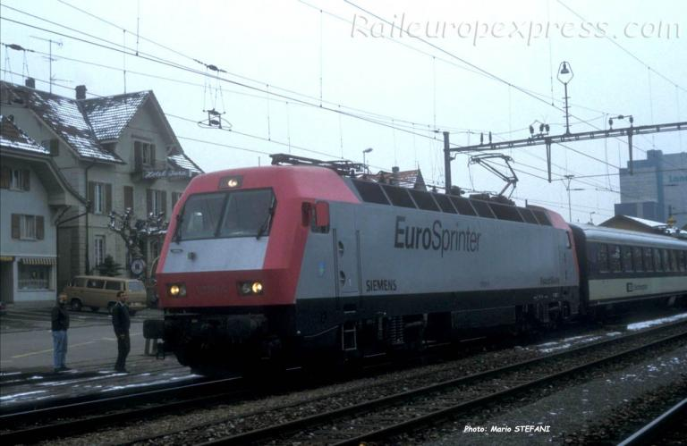 127 01-6 Eurospinter à Kerzers (CH)