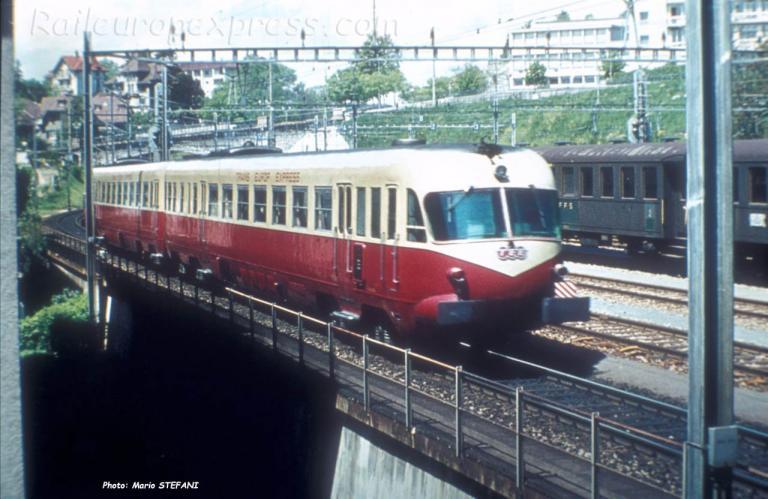 Aln FS TEE à Lausanne (CH)