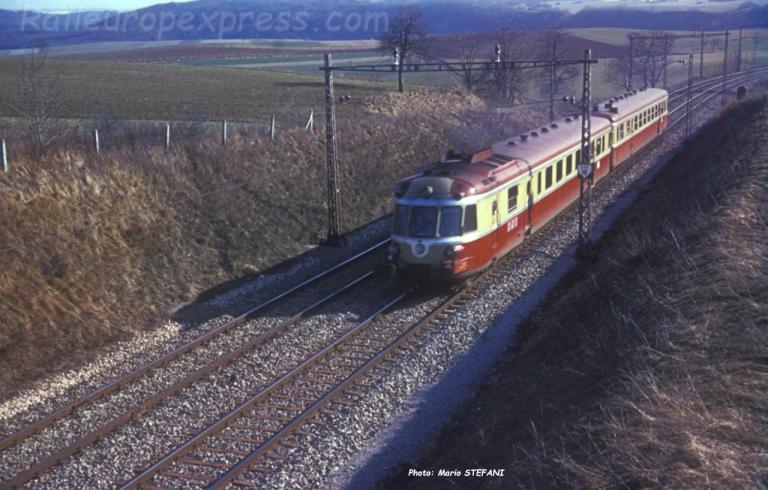 X 2770 RGP 1 SNCF à Arnex (CH)