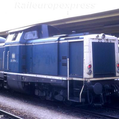 DB 212 076 4 Freiburg Im Brisgau
